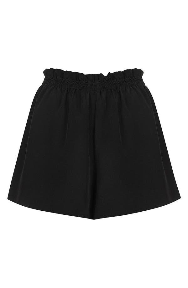 Alternate Image 1 Selected - Topshop Boutique Silk Shorts