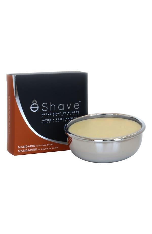 Main Image - eShave 'Mandarin' Shaving Soap with Bowl