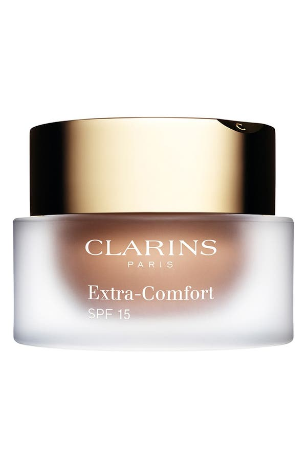 Alternate Image 1 Selected - Clarins Extra-Comfort Anti-Aging Foundation SPF 15