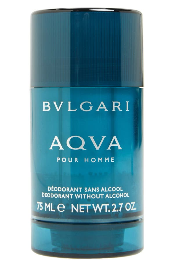 Alternate Image 1 Selected - BVLGARI 'AQVA pour Homme' Deodorant Stick