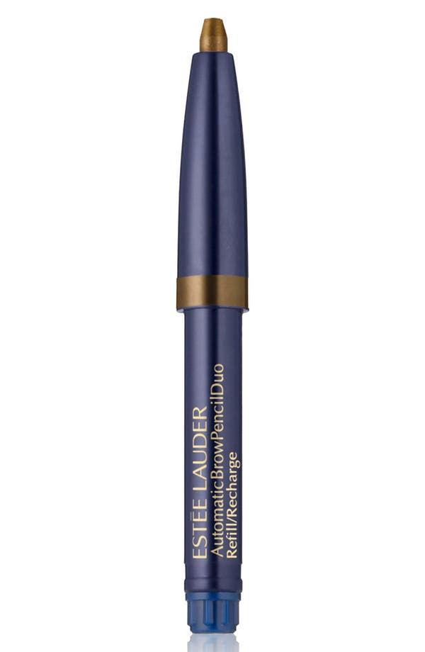 Automatic Brow Pencil Duo Refill,                             Main thumbnail 1, color,                             Soft Brown