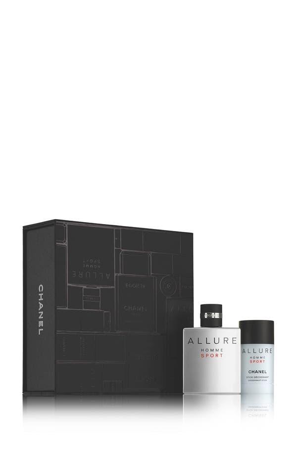 Alternate Image 1 Selected - CHANEL ALLURE HOMME  Deodorant Stick Set