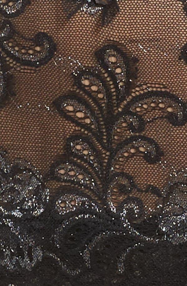 Alternate Image 8  - Le Mysère 'Sophia' Lace Garter Belt