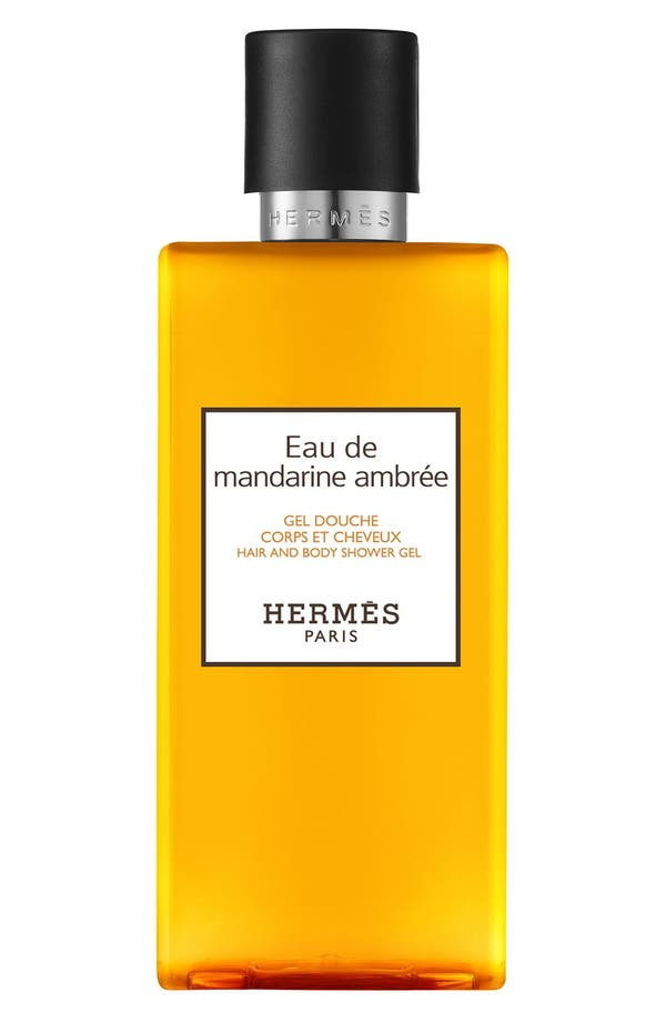 Main Image - Hermès Eau de Mandarine Ambrée - Hair and body shower gel