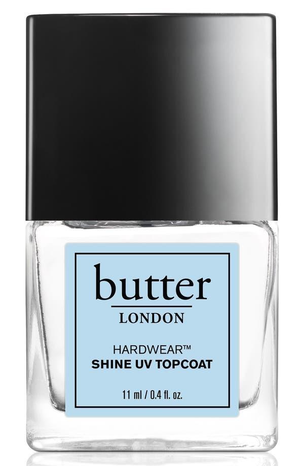 Main Image - butter LONDON 'Hardwear™' Shine UV Topcoat