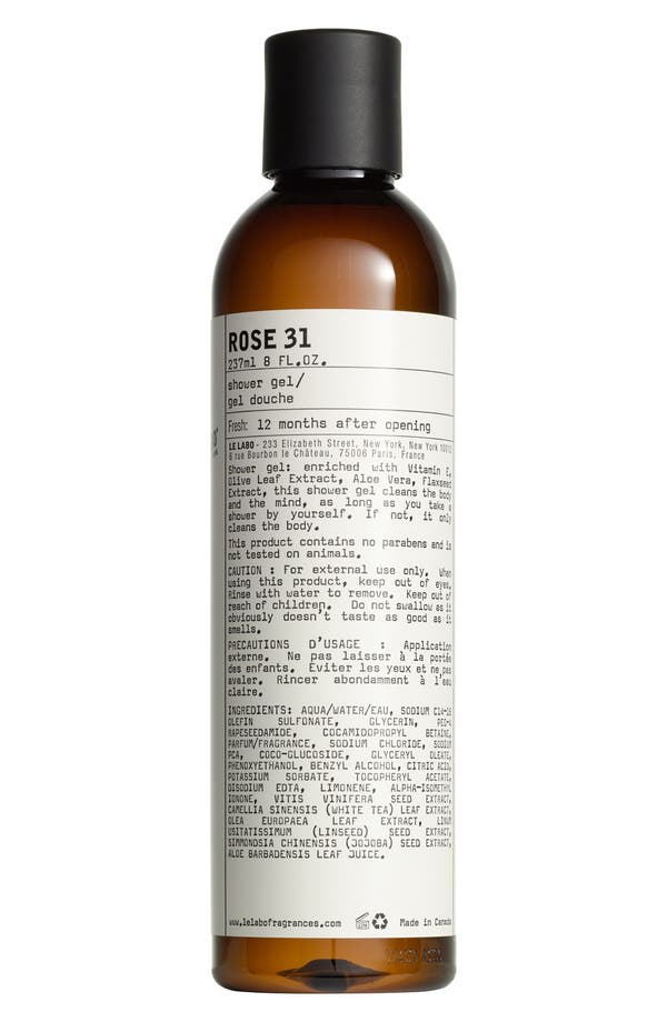 Main Image - Le Labo Rose 31 Shower Gel