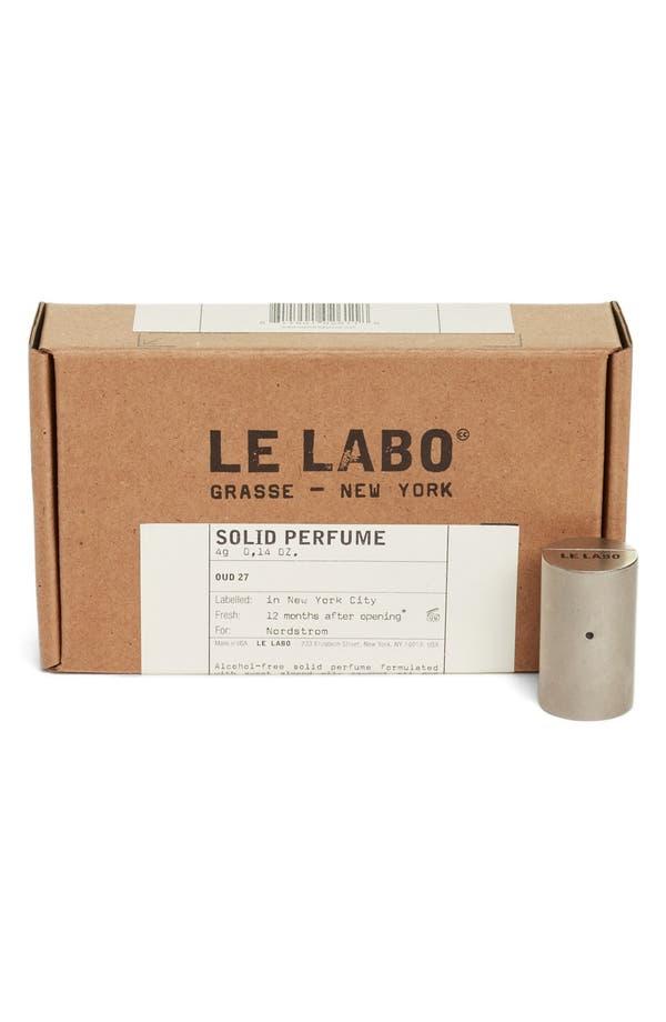 Alternate Image 2  - Le Labo 'Oud 27' Solid Perfume