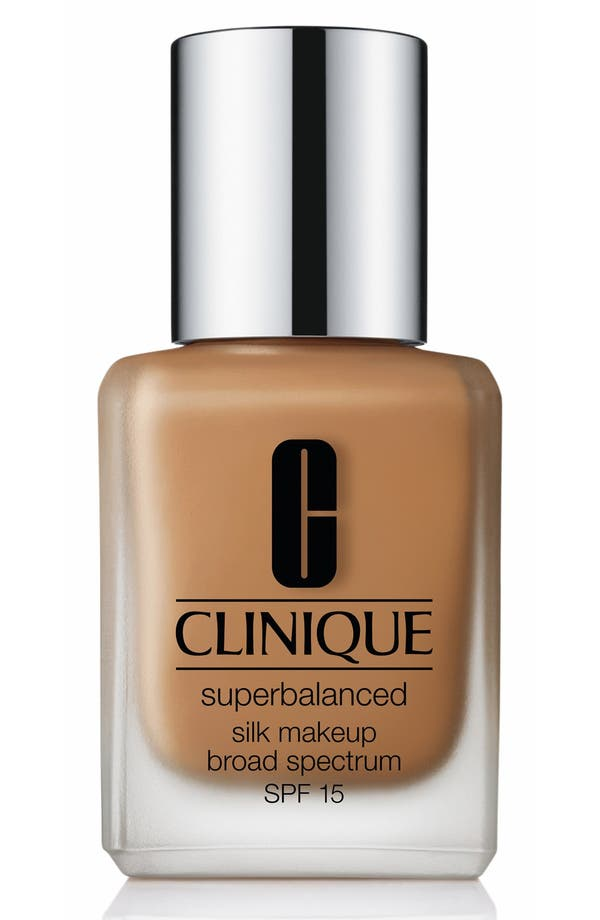 Superbalanced Silk Makeup Broad Spectrum SPF 15,                             Main thumbnail 1, color,                             Silk Nutmeg