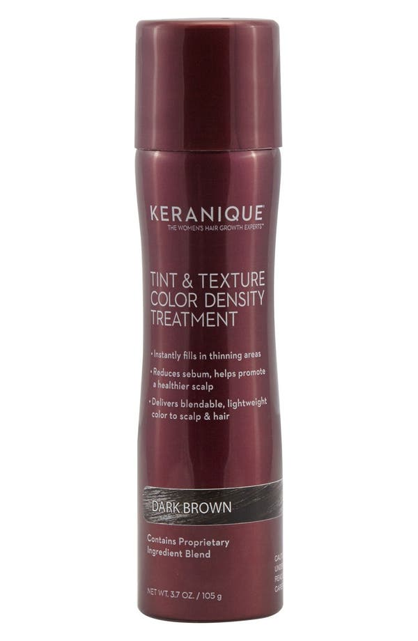 KERANIQUE Tint & Texture Color Density Treatment in Dark Brown