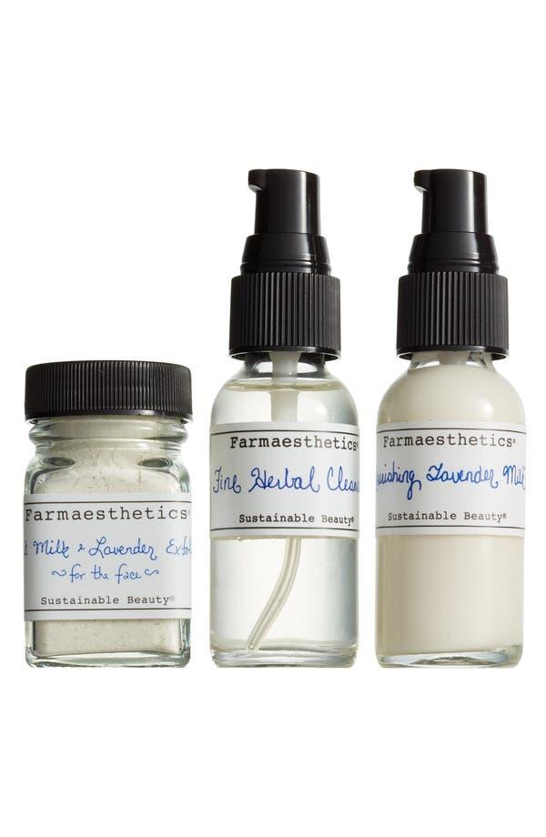 Main Image - Farmaesthetics Three-Piece Lavender Facial-to-Go Set