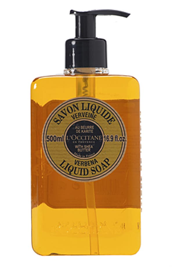 Alternate Image 1 Selected - L'Occitane 'Verbena' Shea Butter Liquid Soap