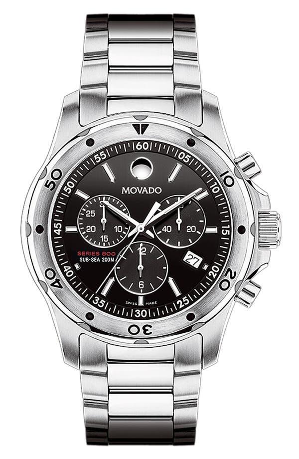 Alternate Image 1 Selected - Movado 'Sub Sea Series 800' Chronograph Watch