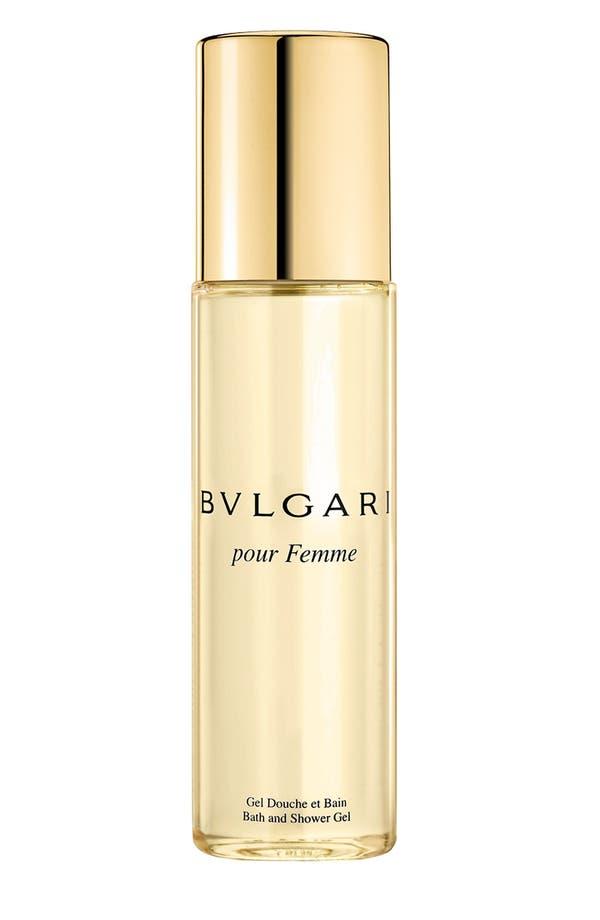 Alternate Image 1 Selected - BVLGARI pour Femme Bath & Shower Gel