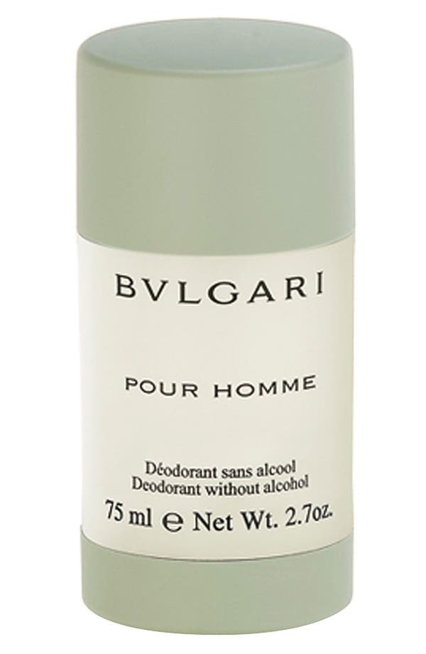 Alternate Image 1 Selected - BVLGARI pour Homme Deodorant Stick