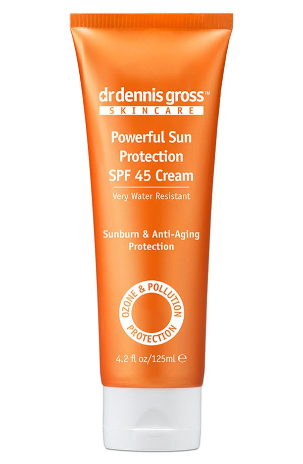 Alternate Image 1 Selected - Dr. Dennis Gross Skincare Powerful Sun Protection SPF 45 Cream