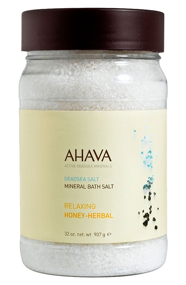 Alternate Image 1 Selected - AHAVA Relaxing Honey-Herbal Mineral Bath Salt