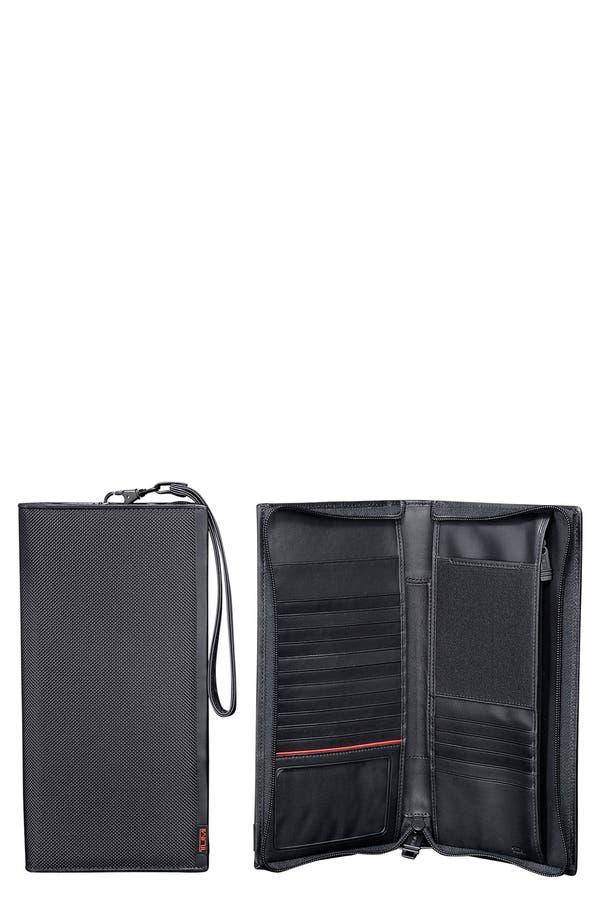 Alpha Zip Travel Case,                         Main,                         color, Black