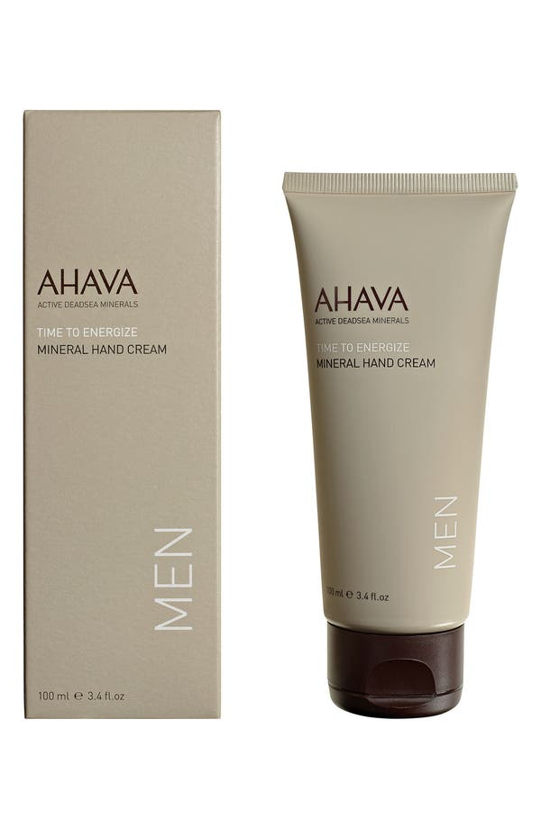 Alternate Image 1 Selected - AHAVA MEN Mineral Hand Cream