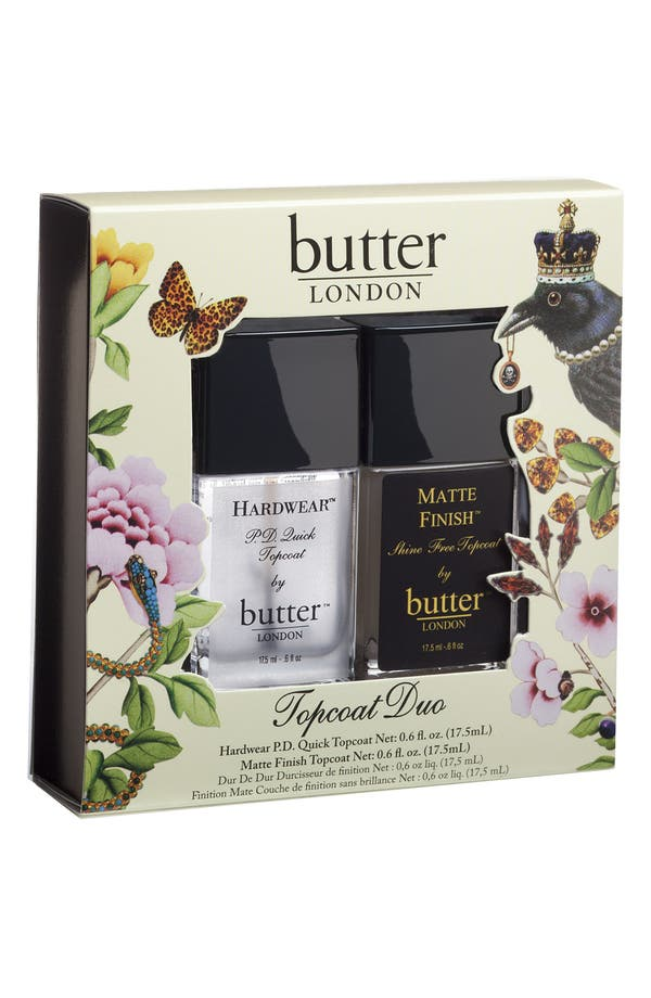 Alternate Image 1 Selected - butter LONDON Topcoat Duo ($36 Value)