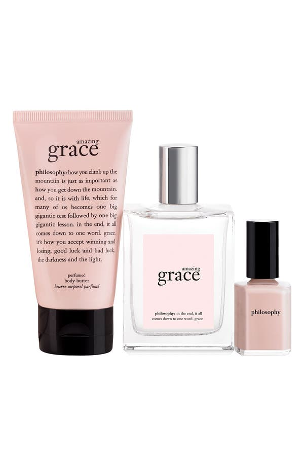 Alternate Image 2  - philosophy 'amazing grace' gift set ($70 Value)