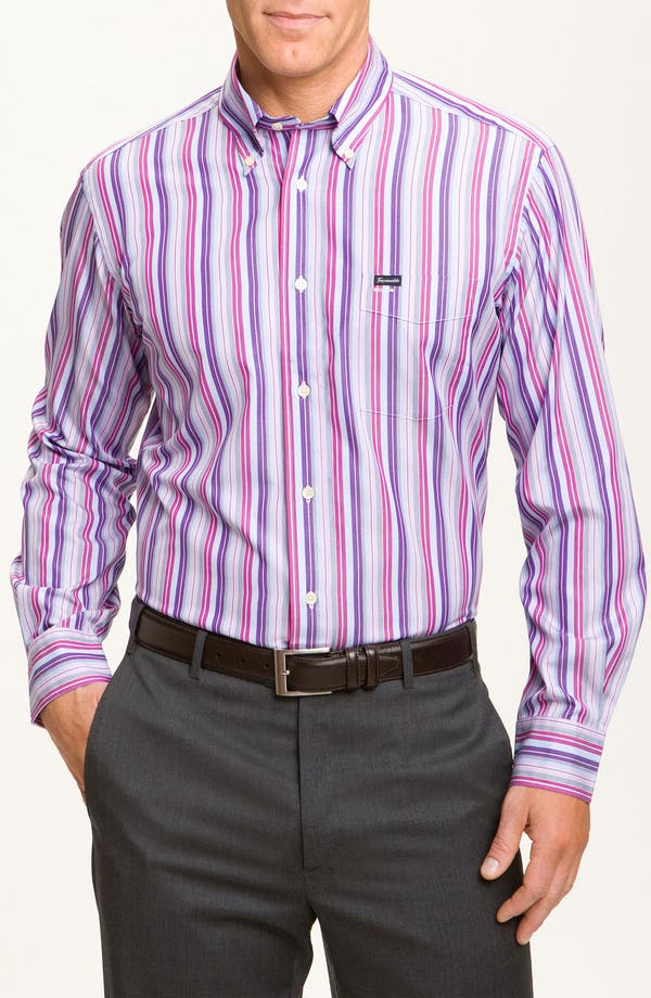 Alternate Image 1 Selected - Façonnable Classique Fit Sport Shirt