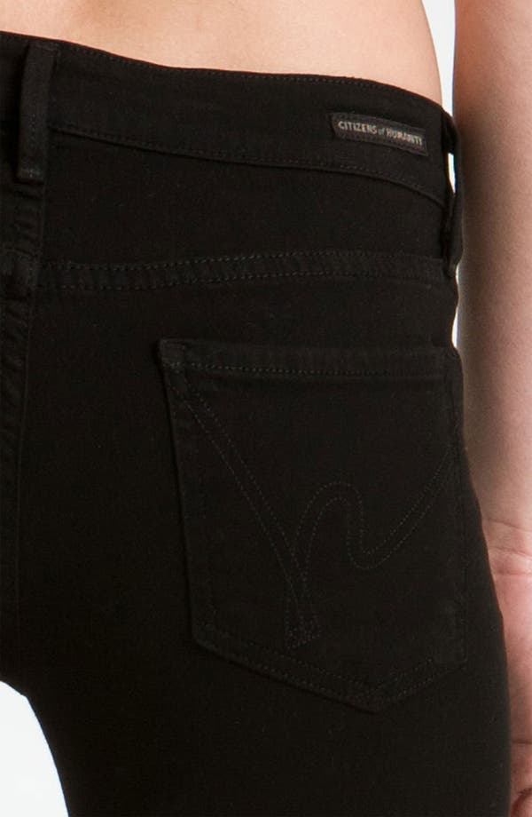 Alternate Image 3  - Citizens of Humanity 'Ava' Straight Leg Stretch Jeans (Vamp Black) (Online Exclusive)
