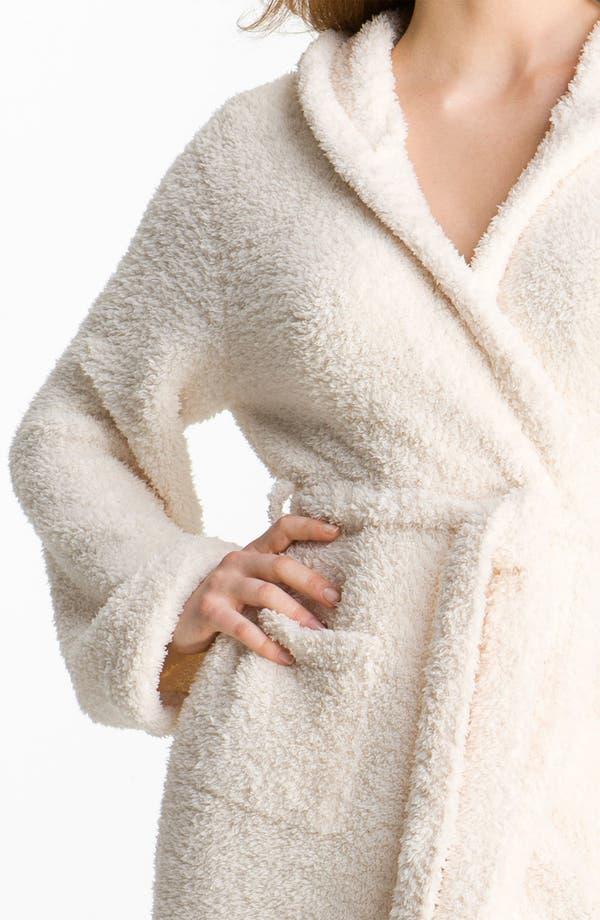 Alternate Image 3  - Barefoot Dreams® CozyChic® Short Hooded Robe