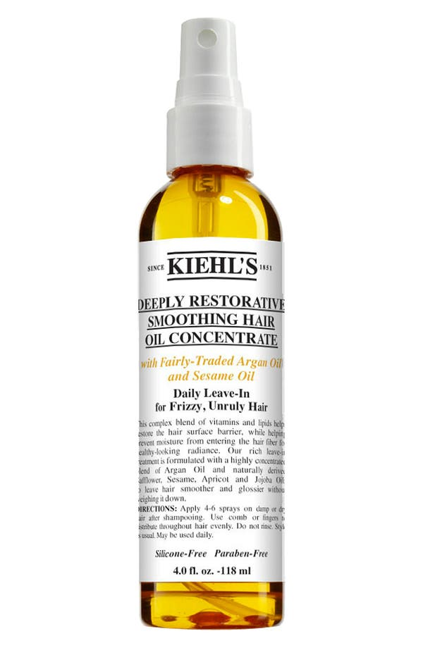 Main Image - Kiehl's Since 1851 'Deeply Restorative' Smoothing Hair Oil Concentrate