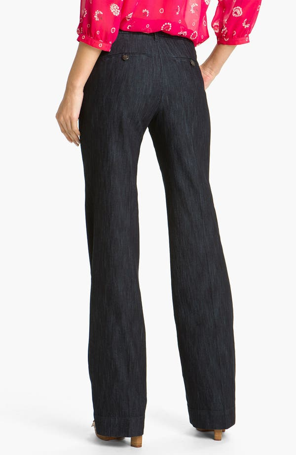 Alternate Image 2  - Jag Jeans 'Pearl' Trouser Jeans (Dark Storm Wash)