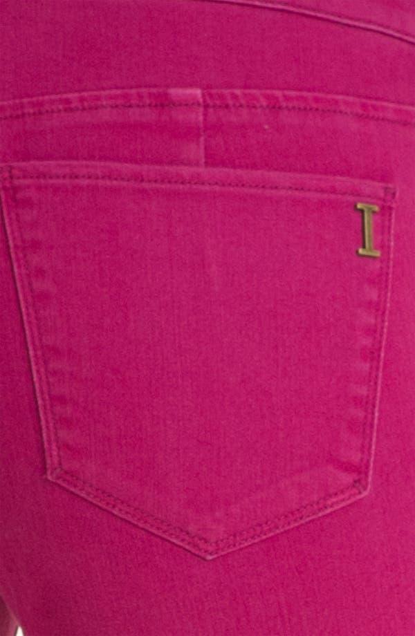 Alternate Image 3  - Isaac Mizrahi Jeans 'Samantha' Colored Denim Skinny Jeans