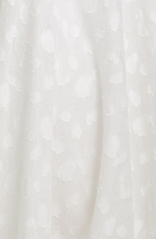 Alternate Image 3  - Theia Fil Coupe Jacquard Sweetheart Gown