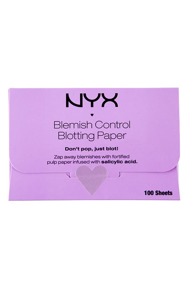 Alternate Image 1 Selected - NYX 'Blemish Control' Blotting Paper