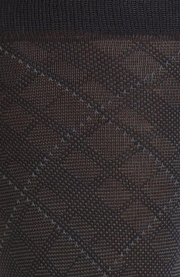 Alternate Image 2  - Brooks Brothers Diamond Socks