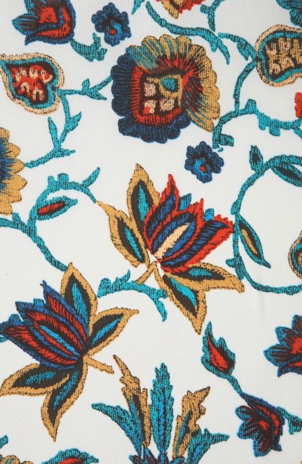 Alternate Image 3  - Topshop 'Nordic Paisley' Print Crop Top