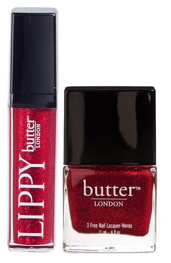 Main Image - butter LONDON 'Lips & Tips - Chancer' Duo ($31 Value)