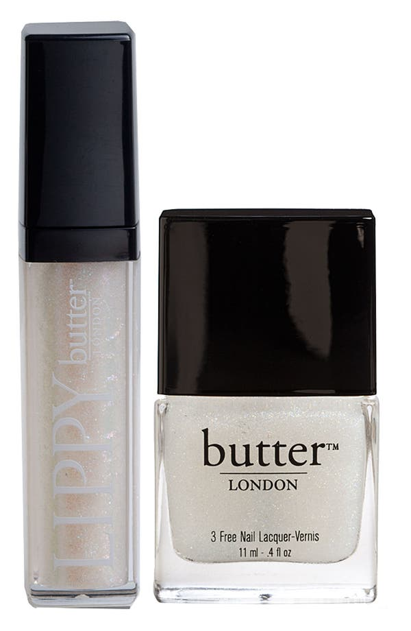 Alternate Image 1 Selected - butter LONDON 'Lips & Tips - Frilly Knickers' Duo ($31 Value)