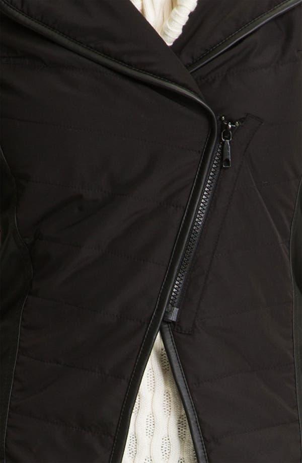 Alternate Image 3  - Lafayette 148 New York Hooded Mixed Media Jacket