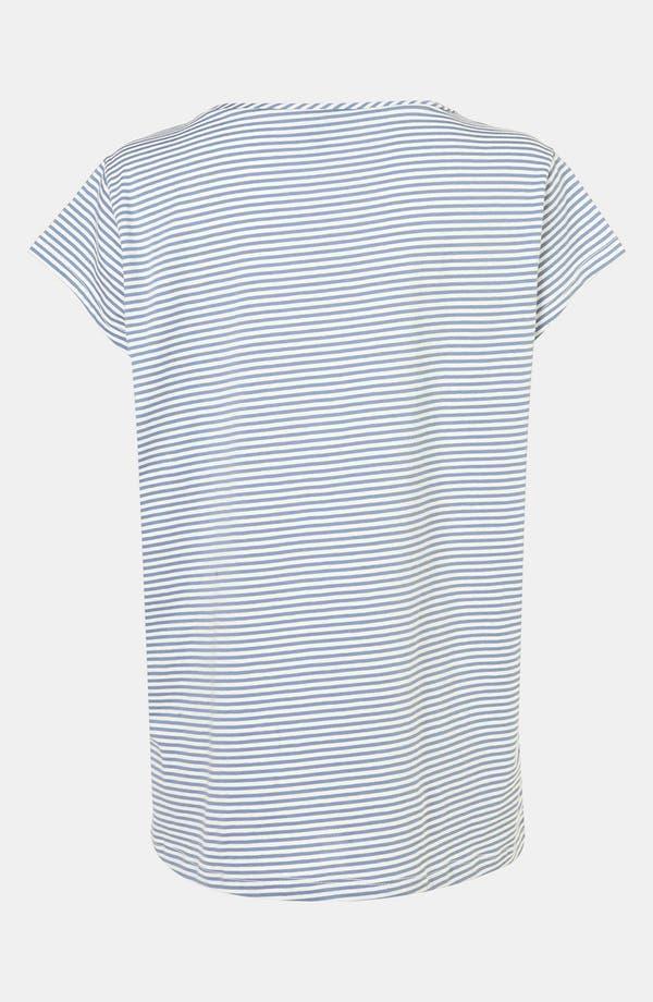 Alternate Image 3  - Topshop Stripe Maternity Pajama Tee