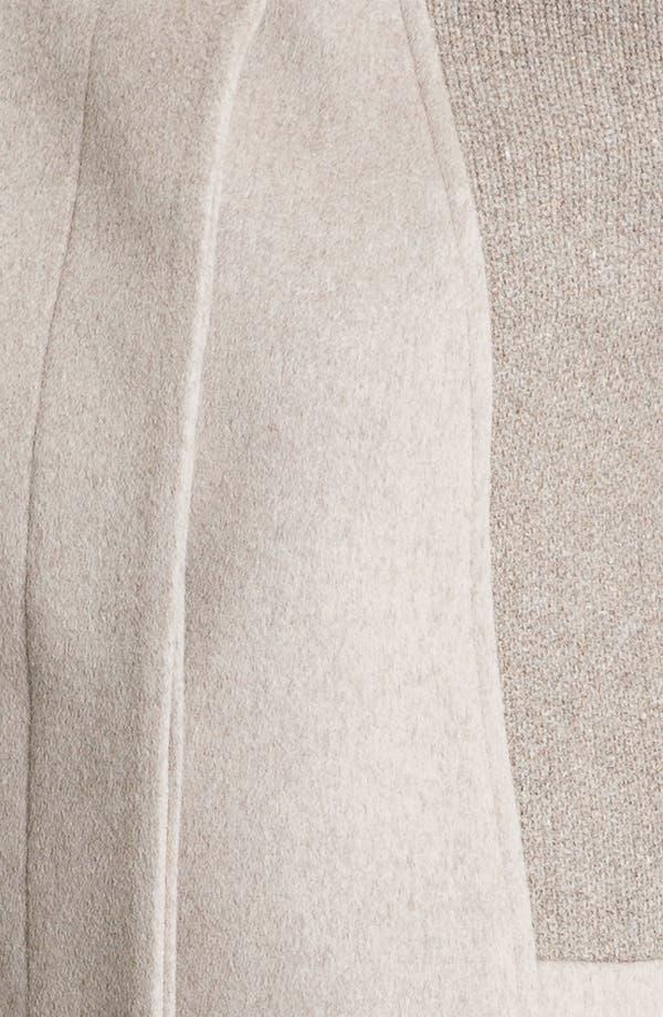 Alternate Image 3  - Cinzia Rocca Mix Texture Wool Coat