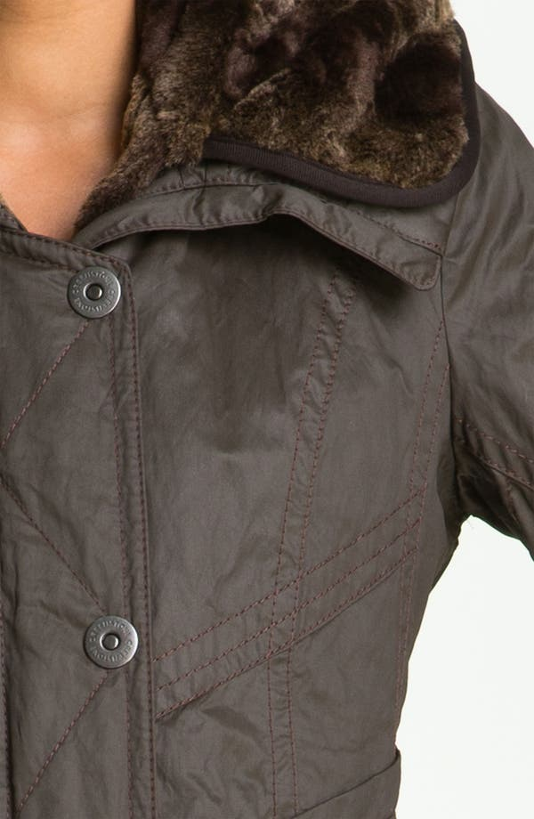 Alternate Image 3  - Creenstone Hooded Parka with Faux Fur Liner