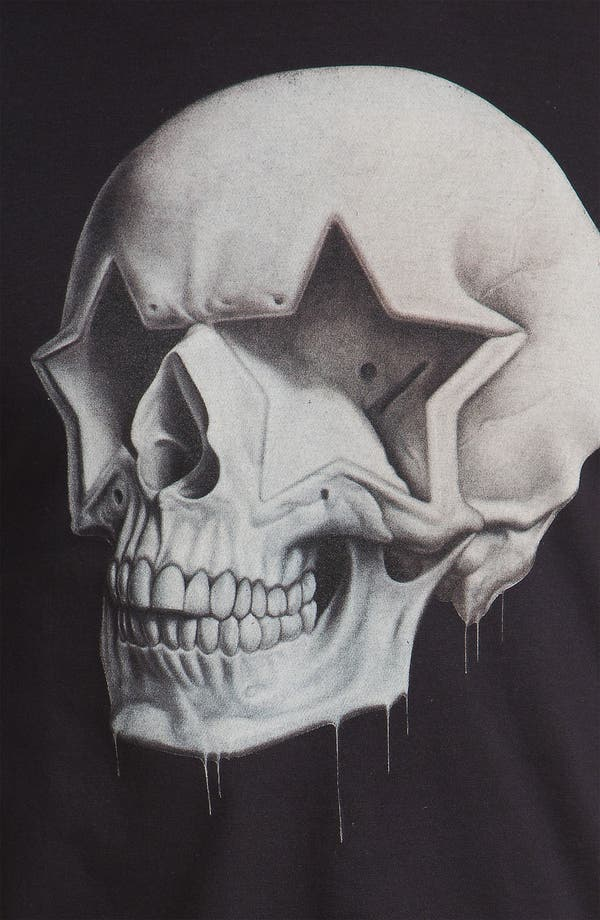 Alternate Image 3  - Hurley 'Star Skull' Graphic T-Shirt