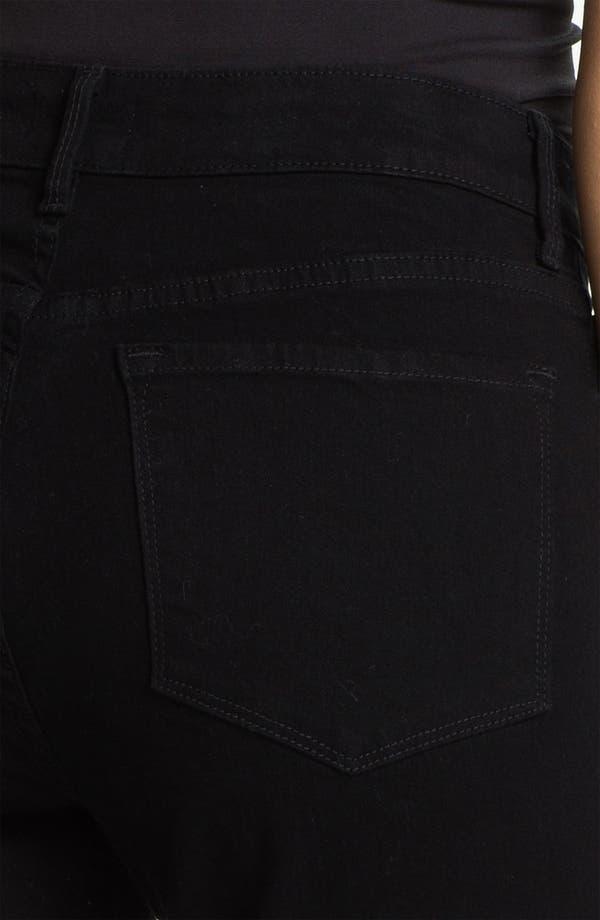 Alternate Image 3  - NYDJ 'Marilyn' Beaded Straight Leg Jeans