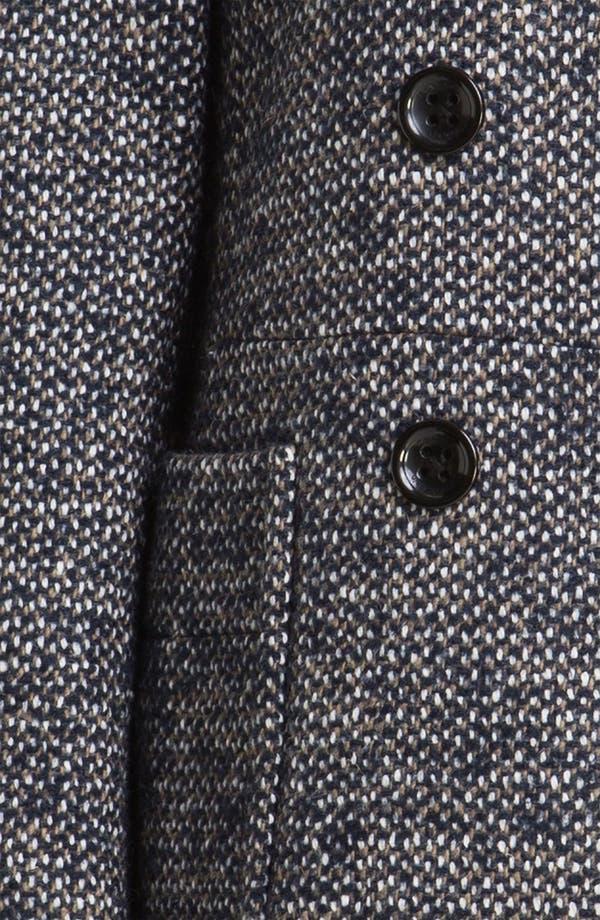 Alternate Image 3  - Calvin Klein Double Breasted Tweed Coat