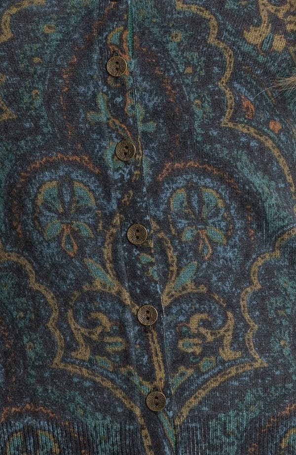 Alternate Image 3  - Lucky Brand 'Oriental Rug' Cardigan (Online Exclusive)