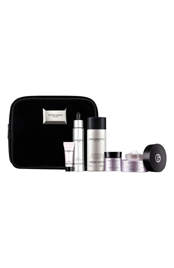 Alternate Image 1 Selected - Giorgio Armani 'Regenessence 3.R' Skincare Set ($300 Value)