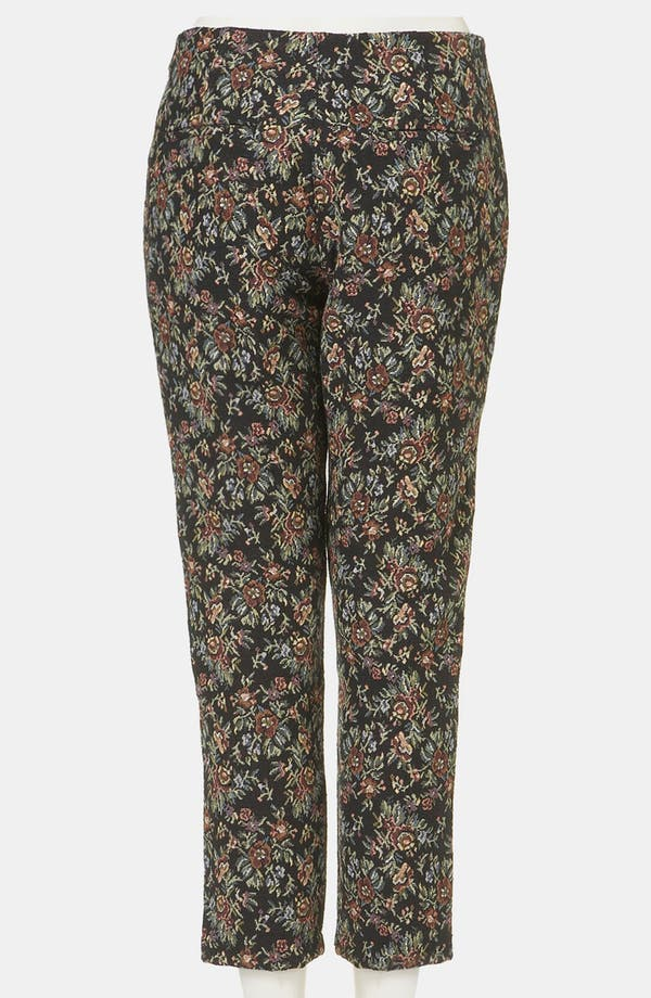 Alternate Image 2  - Topshop Tapestry Print Skinny Pants
