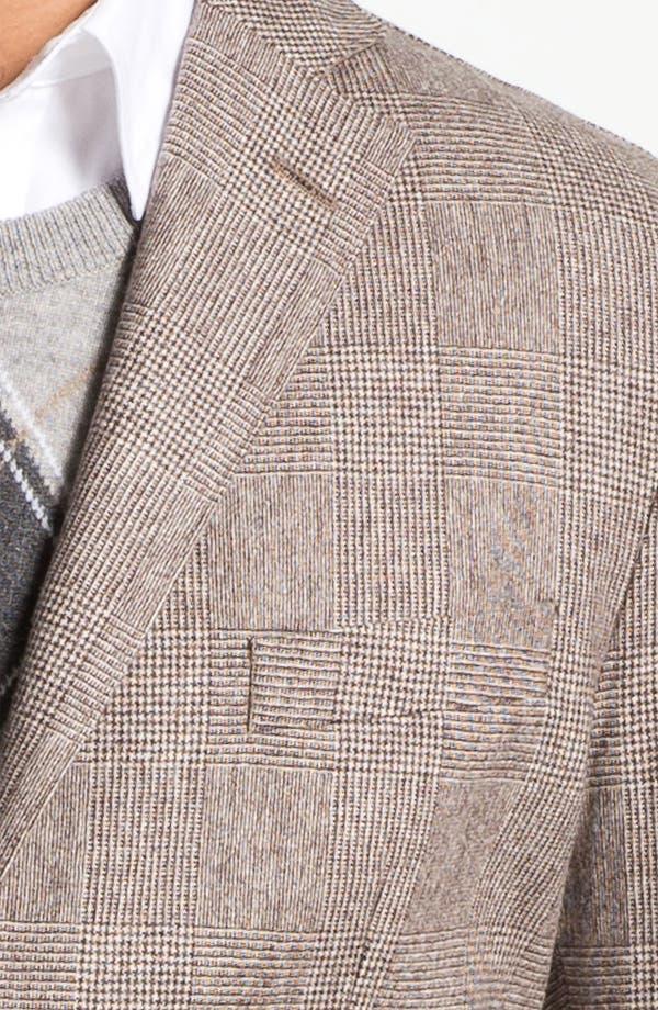 Alternate Image 3  - Lubiam 'Prince of Wales' Wool Sportcoat