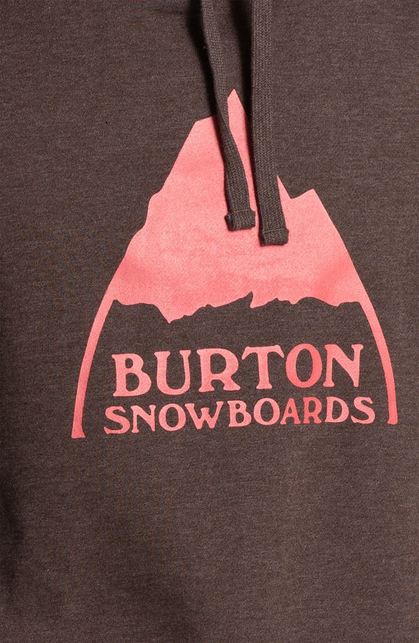 Alternate Image 3  - Burton 'Mountain Logo' Hoodie