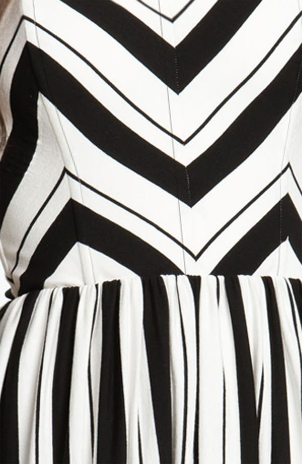 Alternate Image 3  - Ella Moss Stripe Strapless Dress