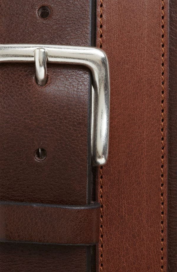 Alternate Image 2  - Trafalgar 'Belden' Leather Belt